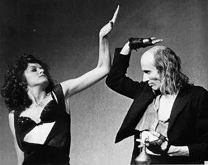 Riff et Magenta sur scène