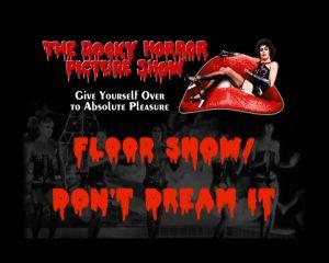 Frank sur la bouche du Rocky Horror