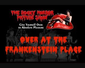 Image de Frank N' Furter sur la bouche du Rocky Horrorr la bouche du Rocky HOrror
