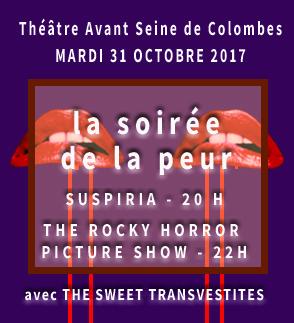Halloween au theatre Avant Seine de Colombes