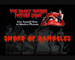 Frank n Furter sur la Bouche du Rocky Horror