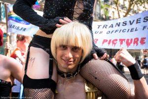 Frank et Rocky à la Gay Pride de Paris 2018