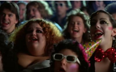 Extrait du Rocky Horror Picture Show dans le film Fame