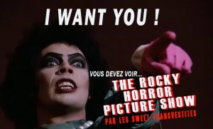 Concours costumes au Rocky Horror Picture Show
